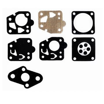 Carb Diaphragm & Gasket Kit, Kawasaki TD18, TD24, TD33, TD40, TD48 Engine, Trimmer, Brush Cutter